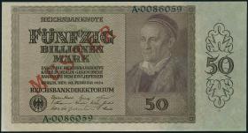 R.136M1 50 Billionen Mark 1924  Muster (1/1-)