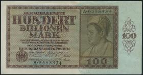 R.137: 100 Billionen Mark 1924 (2+)