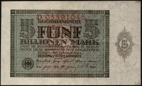 R.138: 5 Billionen Mark 1924 (2+)