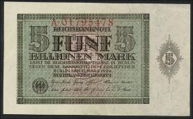 R.138: 5 Billionen Mark 1924 (1/1-)