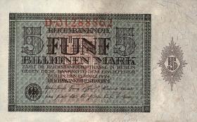 R.138: 5 Billionen Mark 1924 (1)