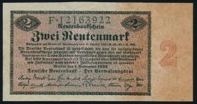 R.155: 2 Rentenmark 1923 (2+)