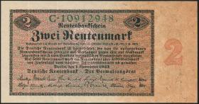 R.155: 2 Rentenmark 1923 (3+)