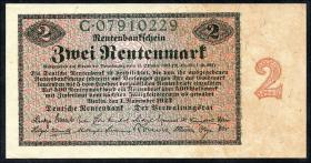 R.155: 2 Rentenmark 1923 (1-)