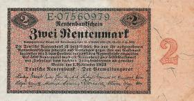 R.155: 2 Rentenmark 1923 (1)