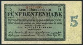 R.156b 5 Rentenmark 1923 7-stellig (2)
