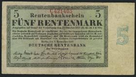 R.156b 5 Rentenmark 1923 (3)