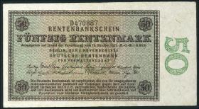 R.158b 50 Rentenmark 1923 (2)