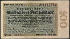 R.159: 100 Rentenmark 1923 (3)