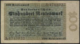 R.159: 100 Rentenmark 1923 (4)