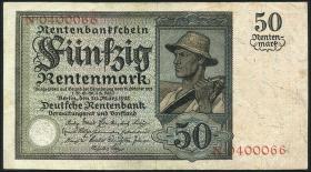 R.162: 50 Rentenmark 1925 (3+)