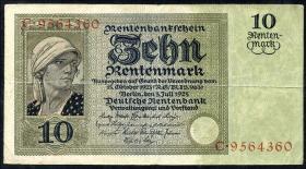 R.163: 10 Rentenmark 1925 (3)