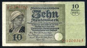 R.163: 10 Rentenmark 1925 (4)