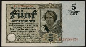 R.164b: 5 Rentenmark 1926 8-stellig (2)