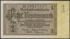 R.166F: 1 Rentenmark 1937 braune KN (2)