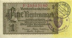 R.166F: 1 Rentenmark 1937 Differdingen (2)