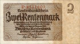 R.167a: 2 Rentenmark 1937 7-stellig (1)