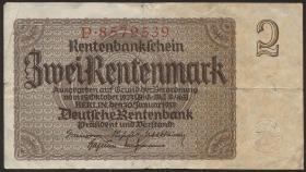 R.167a: 2 Rentenmark 1937 7-stellig (3)