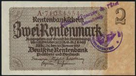 R.167f: 2 Rentenmark 1937 (2)