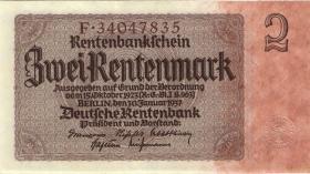 R.167fF: 2 Rentenmark 1937 (2)