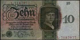 R.168a: 10 Reichsmark 1924 G/L (3)
