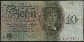 R.168a: 10 Reichsmark 1924 U/V (4)