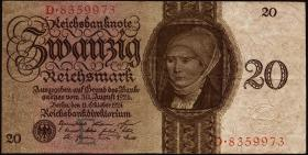 R.169: 20 Reichsmark 1924 E/D (3/2)
