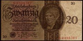 R.169: 20 Reichsmark 1924 M/S (3)