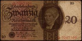 R.169: 20 Reichsmark 1924 Q/W (4)