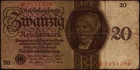 R.169: 20 Reichsmark 1924 Z/R (4)
