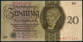 R.169: 20 Reichsmark 1924 E/H (2)