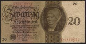 R.169: 20 Reichsmark 1924 Z/Y (3)