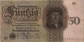 R.170a: 50 Reichsmark 1924 N/F (3)