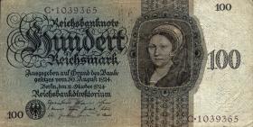 R.171a: 100 Reichsmark 1924 (3)