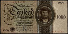 R.172a: 1000 Reichsmark 1924 R/A (3)