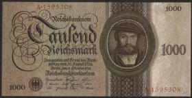 R.172a: 1000 Reichsmark 1924 R/A (1)