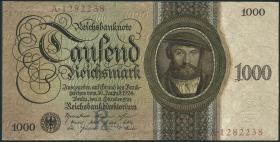 R.172a 1000 Reichsmark 1924 (1/1-)