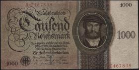 R.172a: 1000 Reichsmark 1924 T/A (4)