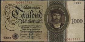 R.172a: 1000 Reichsmark 1924 R/A (4)
