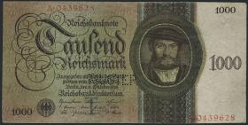 R.172M: 1000 Reichsmark 1924 T/A MUSTER (3)