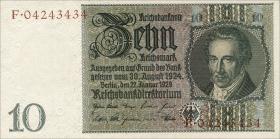 R.173F: 10 Reichsmark 1929 braune KN (1)
