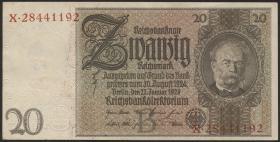 R.174a: 20 Reichsmark 1929 (1)