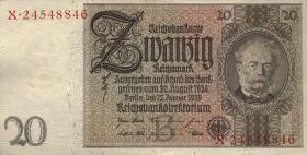 R.174a: 20 Reichsmark 1929 (1-)