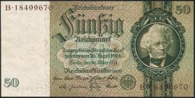 R.175F: 50 Reichsmark 1933 braune KN (3)