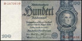 R.176a: 100 Reichsmark 1935 Liebig (1/1-)