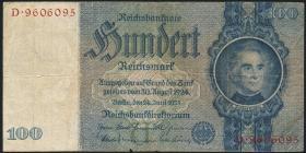 R.176a: 100 Reichsmark 1935 Liebig U/D (4)