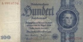 R.176b: 100 Reichsmark 1935 Liebig G/L (3)