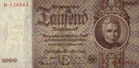 R.177: 1000 Reichsmark 1936 Schinkel Serie B (1)