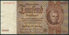 R.177: 1000 Reichsmark 1936 Schinkel Serie A (1)