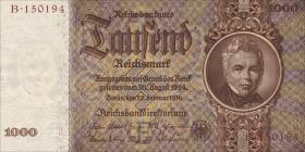 R.177F: 1000 Reichsmark 1936 Schinkel (1)